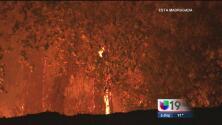 Posible causante del incendio en Railroad Drive