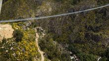 Así se ve el puente colgante más grande del planeta (y es peatonal)
