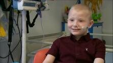 El niño de siete años que fue trasplantado con cinco órganos en una sola operación