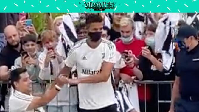 Gran ovación a Cristiano tras volver al centro deportivo de Juventus