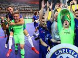 Nunca jugó en Europa League... pero igual salió en la foto de Chelsea campeón