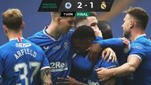 Real Madrid cae en juego de pretemporada contra el Rangers