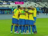 ¡Gol de Brasil! Alex Sandro fusila a Gallese para el 1-0