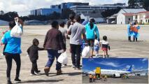 Regresa a sus países a familias migrantes que no tienen un caso de asilo
