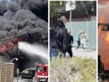 Dan a conocer nuevos detalles sobre el masivo incendio en edificio vinculado al cultivo de marihuana en Canoga Park