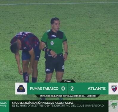 Potros le pega a Pumas Tabasco y suma tres puntos por la Liga Expansión