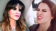 """""""No tengo síntomas fuertes"""" asegura Lucía Méndez mientras le hacen la prueba del covid-19"""