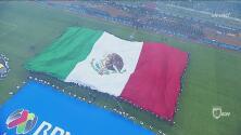 ¡Retumbó el Azteca! El himno mexicano en todo su esplendor