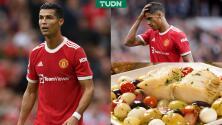 ¡Molestia! Dieta de CR7 crea malestar en el Manchester United