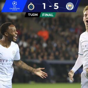 Resumen   Manchester City despedaza al Brujas en Bélgica