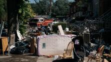 """""""Fue demasiado grande la tragedia"""": el drama de los sobrevivientes a inundaciones en Nueva Jersey"""