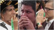 Con los ojos aguados y orando: así vivieron los mexicanos el partido del Tri en el Ángel