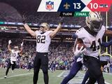 Saints es una pesadilla jugando de visita, ahora venció a Seattle