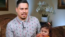 """""""Un pedacito de ella"""": la inspiradora historia de un papá soltero que perdió a su esposa embarazada en una tragedia"""