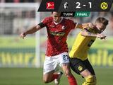 Borussia Dortmund fue sorprendido por el Freiburg en la Jornada 2 de la Bundesliga