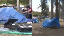 Desamparados que viven en el parque MacArthur tendrán que irse: la ciudad de Los Ángeles planea renovarlo