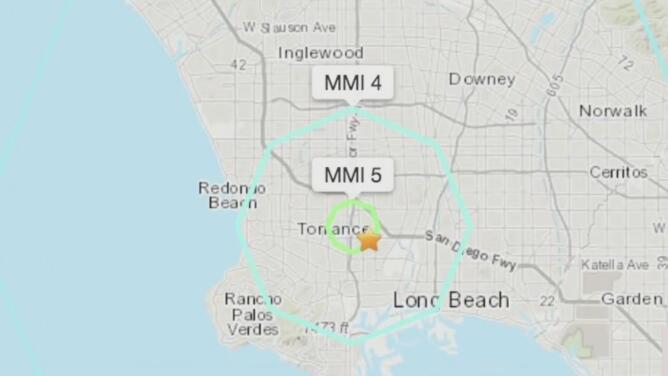 Sismo de magnitud 4.3 sacude el sur de California: el epicentro fue en la ciudad de Carson