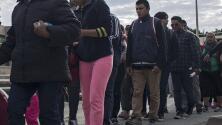 Comienzan a llegar a la frontera con EEUU los primeros migrantes centroamericanos de la caravana
