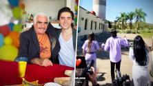 ¿Vicente Fernández le atinó? Alex Fernández y su esposa revelan el sexo de su bebé