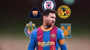 Equipos de Liga MX 'levantan' la mano para fichar a Lionel Messi