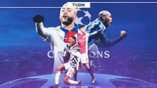 PSG, United, Inter y Ajax, por su pase a Octavos de Champions