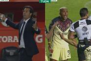 ¡Se exasperan contra el árbitro! Roger y Solari reclaman con todo