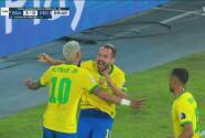 ¡Llegó el tercero! Everton Ribeiro firma la jugada para Brasil