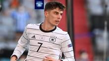 Kai Havertz se sacude la presión que tiene Alemania por ganar y gustar