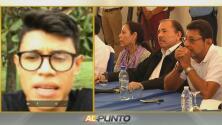 """""""La democracia ha sido secuestrada"""": el estudiante nicaragüense que le dijo a Ortega en su cara que dejara el poder"""