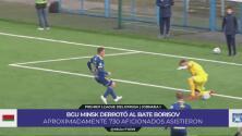"""El futbol no se detiene en Bielorrusia y """"combaten"""" el COVID-19 con vodka"""