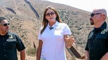 Caitlyn Jenner promete terminar el muro fronterizo para el cruce de indocumentados en California