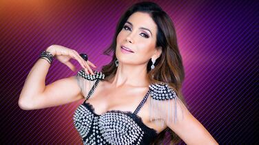 Paty Manterola en su debut como juez de Mira Quién Baila