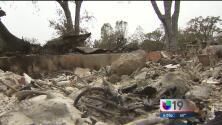Cientos de damnificados por incendio Valley