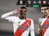 River Plate no tiene piedad y golea a Unión para conseguir su primer triunfo