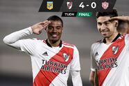 River Plate no tiene piedad y golea al Unión