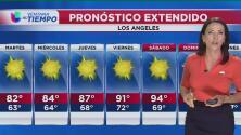 Neblina en las horas de la mañana, pero cielo despejado durante este 4 de julio en Los Ángeles