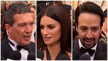 Así desfilaron Antonio Banderas, Penélope Cruz y más estrellas en la alfombra roja de los premios Oscar 2020