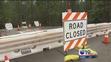 Residentes del condado Placer sufren el colapso de un camino tras el paso de una tormenta