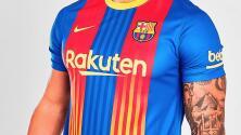 Presentan fotos de la cuarta playera del Barcelona para esta temporada