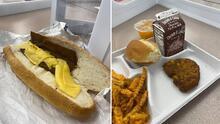 """Se viralizan fotos de almuerzos """"asquerosos"""" en una escuela de Paterson, NJ"""