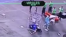 'Gatito' Fernández enloquece y destroza el monitor del VAR