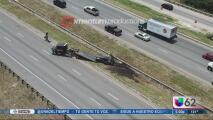 Cierran por horas la autopista 35 por supuesta bomba