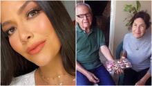 Ana Patricia da la bienvenida a un nuevo integrante en su familia tras la muerte de su abuela