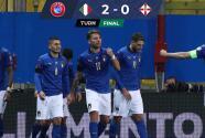 Con goles de Berardi e Inmobile, Italia tundió a Irlanda del Norte