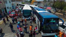 """""""Hemos aguantado hambre y frío, pero vale la pena"""": Integrante de la caravana de migrantes"""