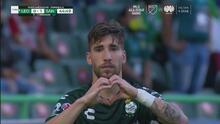 ¡No fue Valdés, pero si Gorriarán! Santos repite penal y marca el 0-1