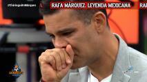 Rafa Márquez rompe en llanto en programa de España en vivo