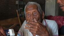 Este es el hombre más viejo del mundo con 146 años