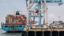 Los efectos del caos portuario en Estados Unidos ya se sienten en el Puerto de Houston