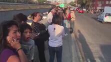 """""""Lo sentimos muy fuerte"""": el primer reporte de lo que se ve en las calles tras el sismo en México"""